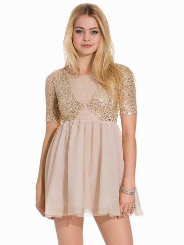 John Zack - Contrast Short Sleeve Dress