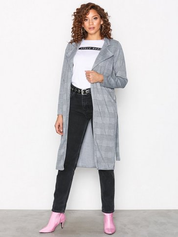 Sisters Point - Check Print Coat