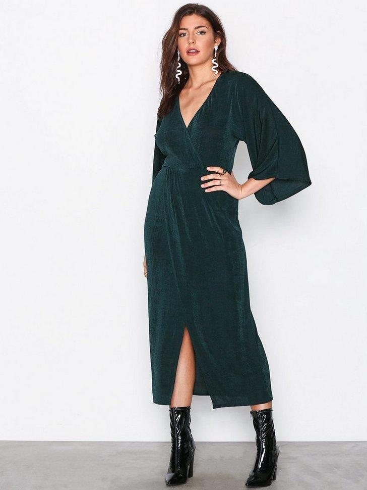 Kimono Wrap Dress køb festkjole