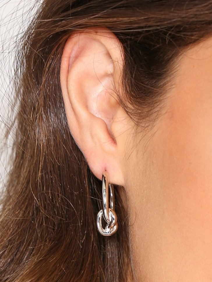 Nelly.com SE - Knot Hoops 1298.00