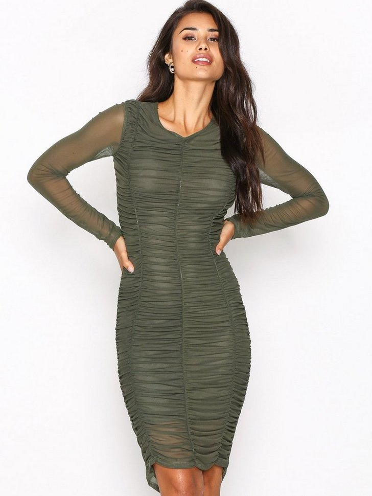 Nelly.com SE - Ruched Mesh Dress 159.00 (398.00)