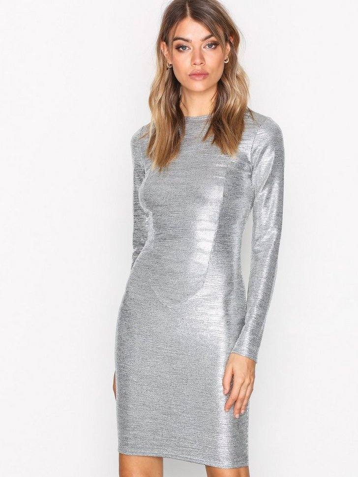 Festkjoler Shiny Mini Dress - festtøj mode
