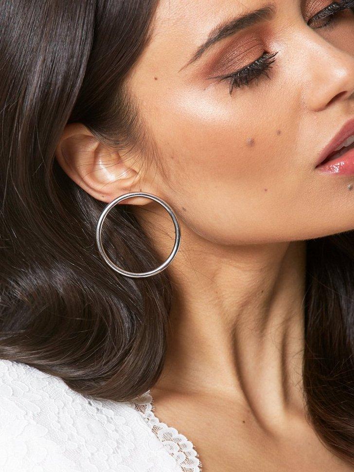 Circle Giant Earring