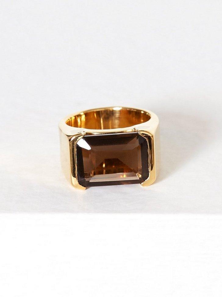 Emerald cut Ring festtøj smykker