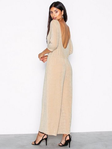 NLY Trend - Low Back Culotte Jumpsuit