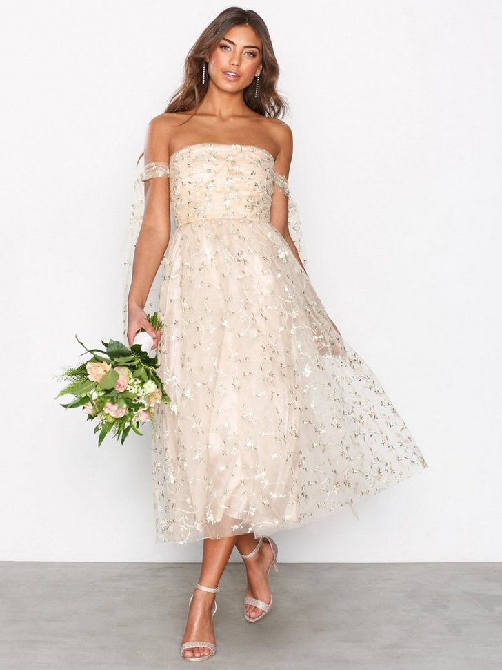 Mesh Midi Gown